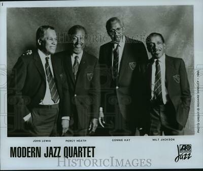 1993 Press Photo Four Members of the Music Group Modern Jazz Quartet - spp48525