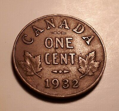 Canada 1932 small cent ... the one in the photo !