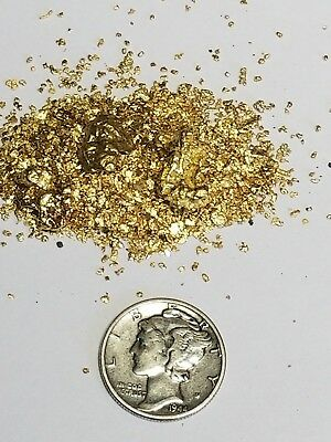 1/2 Pound Gold Paydirt 100% Unsearched Guarantee 25 Gold For Panning Great Gift