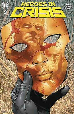 Heroes In Crisis #3 Dc 2018 Standard Cover Stock Image