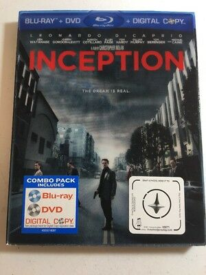 Inception (Two-Disc Edition) [Blu-ray] Blu-ray With Lenticular Slipcover