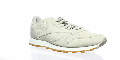 01dad161bac24 REEBOK CLASSIC LEATHER SG SHOES NEW Sand-Stone Chalk Gum BS7893 MEN ...