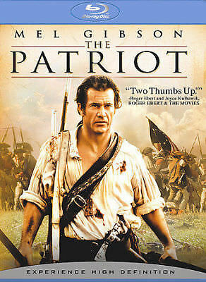 The Patriot (Blu-ray) Extended Cut-Mel Gibson- NEW - Free Shipping in Canada!