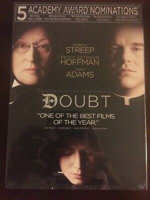 Doubt (DVD, 2009, Canadian) New! w Slipcase