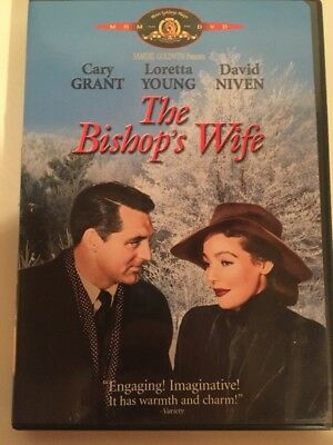 THE BISHOP'S WIFE rare Classic dvd CARY GRANT Loretta Young DAVID NIVEN '47 Mint