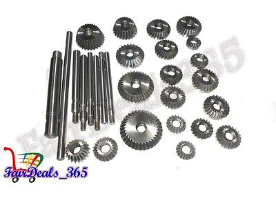 20 pcs Valve Seat & Face Cutter Set Automotive Industrial Tool-Heavy Duty
