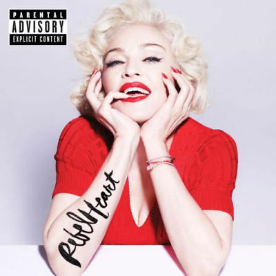 Madonna rare Chile cd new and sealed Rebel Heart collectible new cd imported