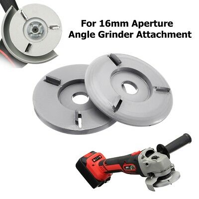 90mm Woodworking Turbo Plane F/ Aperture Angle Grinder Wood Carving Blade