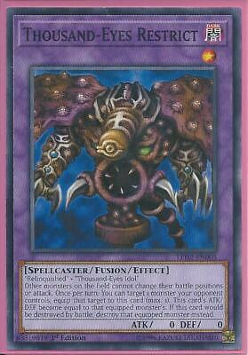 Yugioh - Thousand-Eyes Restrict - 1st Edition Card