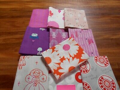 Quilting Fabric - Fat Quarter Bundle X 10 (No.16) Cotton And Steel