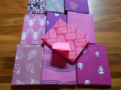 Quilting Fabric - Fat Quarter Bundle X 10 (No.18) Cotton And Steel