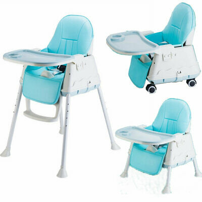 Multifunctional Kids Toddler Baby Highchair Feeding Chair High Chair Safety Belt