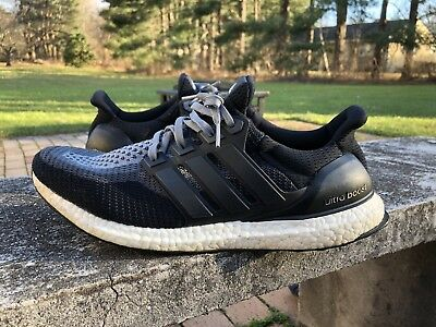 official photos 3003a 14f1c ADIDAS ULTRA BOOST 2.0 Black Grey Gradient Rare boost Running Shoes Men  Size 12