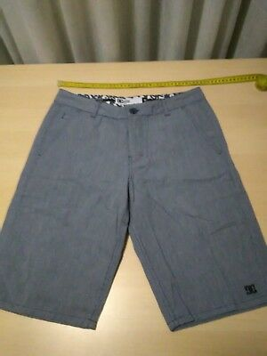 Mens DC Apparel Casual Shorts, Grey, Size 30