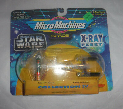 Star Wars Micro Machines X-Ray Collection IV Boba Fett's Slave Y-Wing Fighter