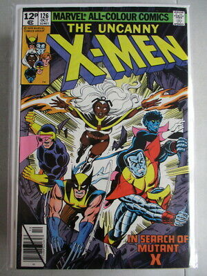 Uncanny X-Men Vol. 1 (1963-2011) #126 VF+ UK Price Variant