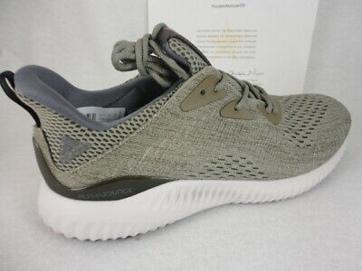 fa64c0066 ADIDAS ALPHABOUNCE EM Men s Running Shoes BW1203 Trace Olive Size ...