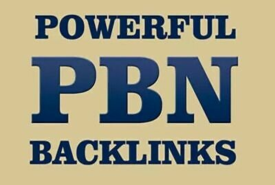 I Will Create 100 Permanent PBN Posts On High Trust Flow Domains