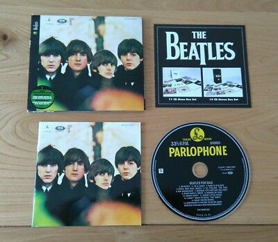 The Beatles For Sale 2009 Euro Remastered CD With Booklet & Insert Pop Rock