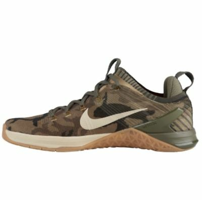 Nike Metcon DSX Flyknit 2 Men s Training Shoes 924423 300 Olive Canvas Camo  NIB 03f918bef
