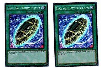 Yugioh Burial From A Different Dimension THSF-EN051 Super Rare 1st Edition