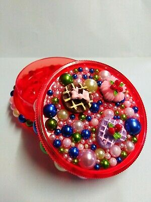 Cute *Bling* Magnetic 60mm 3-Part No1 Herb Grinder Kawaii. Handmade gift