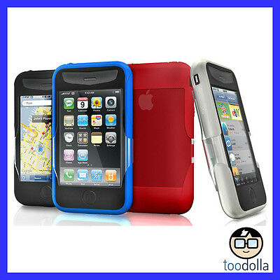 iSkin REVO2 silicone case & screen protection, Apple iPhone 3G/3GS, NEW Oz Stock