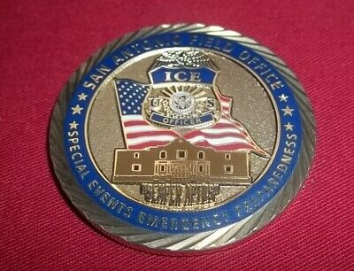 US Immigration   Customs Enforcement Homeland ICE Special Events Challenge  Coin 8b085db26add