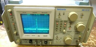 Tektronix 492 Tek Spectrum Analyzer Opt 1,2,3  *Works*