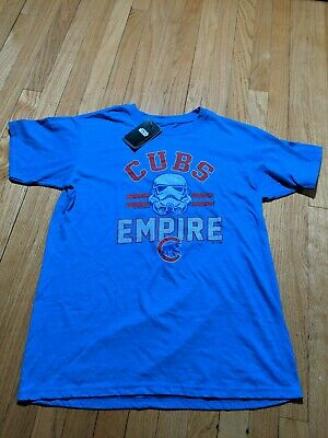 2d977287b Chicago Cubs Fanatics Branded MLB Star Wars Empire Tri-Blend T-Shirt - Royal
