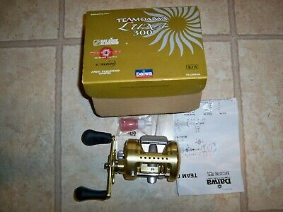 d1752126461 Team Daiwa Luna 300 Fishing Reel - With Box And Accessories - Beautiful !