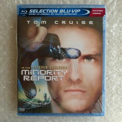 Blu-ray MINORITY REPORT Neuf sous Blister New & Sealed VF VOST Steven Spielberg