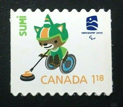 Canada #2312i Die Cut MNH, Olympic Emblems and Mascots - Sumi Stamp 2009