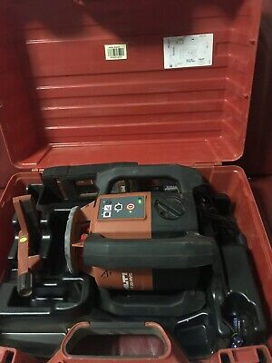 Hilti PR 30-HVS Rotating Laser level  w/ Hilti PRA 30 Receiver and Power Adaptor