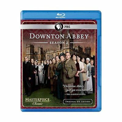 Downton Abbey: Temporada 2 (Original U. K. Edición) [Blu-Ray ], Dvds
