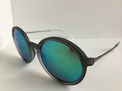 73d0004ad853a NEW RAY-BAN RB 4222 Green Round Mirrored 50mm Sunglasses -  149.99 ...
