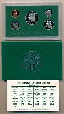 1994 S US Proof Set 5 GEM FDC Proof Coins