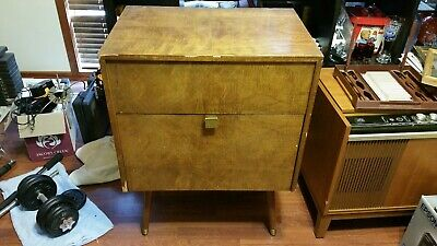 Antique Stereo Cabinet- Alcohol Cabinet
