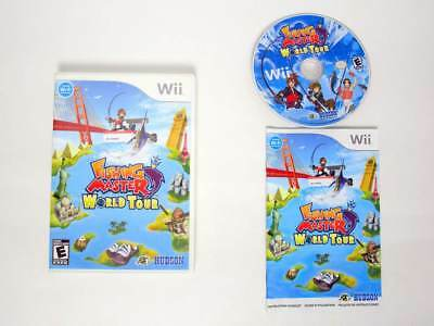 Fishing Master World Tour game for Nintendo Wii -Complete
