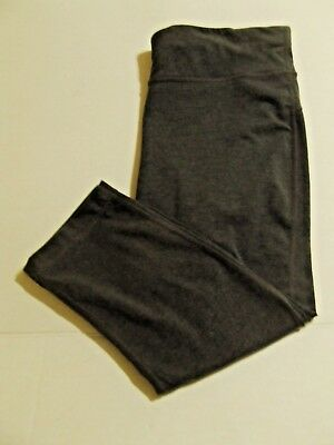 8f8cde7811a4f9 XERSION FITTED ATHLETIC Capri Pants Large- Gray- W8-20 - $10.39 ...