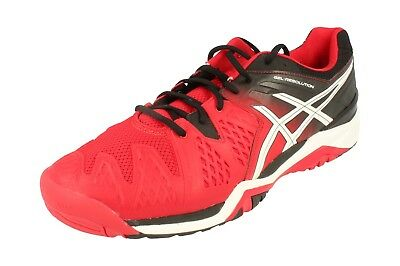 a9cda58de6ad2 ASICS GEL-RESOLUTION 6 Mens Running Trainers E500Y Sneakers Shoes 2390