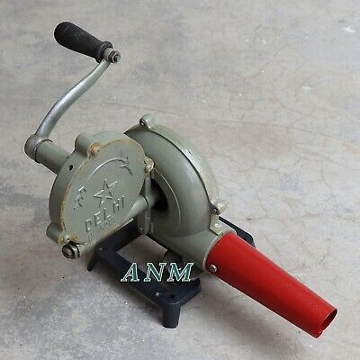 Forge Furnace With Hand Blower Fan Old Style Pedal Type Handle