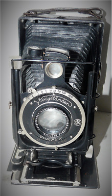 Voigtlander  Appareil Photo A Soufflet Ancien De Collection