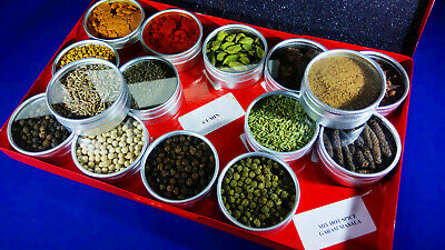 WHOLE AND GROUND Spices Masala and Seeds For Indian Cooking