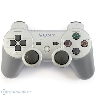 PS3 / Playstation 3 - Original Sixaxis Wireless Controller #silber [Sony]