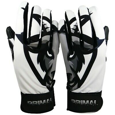 Primal Baseball Adult G.O.A.T Batting Gloves Size Small