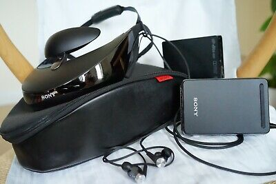 Sony HMZ-T3W-P wireless head mounted display personal 3D viewer