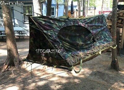 Russian Army Issue Specnaz FSB Tactical Snipers Single Person Bivy Tent Hammock