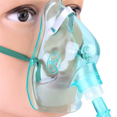 Unisex Kids Medical Disposable Non-Rebreathing Oxygen Mask Tubing Nose Clip 6A