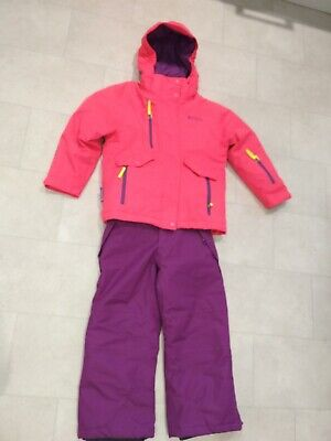 24bb5a29e MOUNTAIN WAREHOUSE GIRLS Ski Pants Snowproof Fabric with Part ...